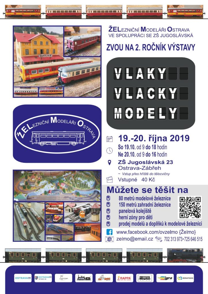 Pozvánka na 2. ročník výstavy modelové železnice a vláčků